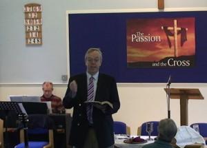 Jonathan Edwards Preaching