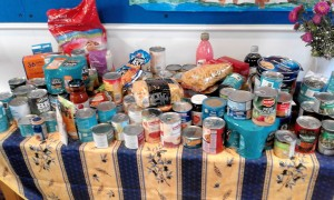 Harvest foodbank offering