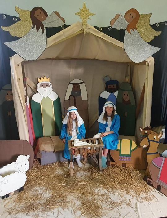 Get in the Picture nativity scene